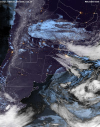 Satélite GOES-16 - Visible Argentina